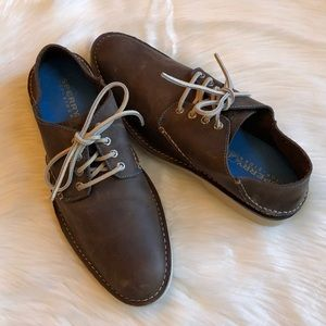Sperry Top Sider Harbor Leather Oxfords 10M